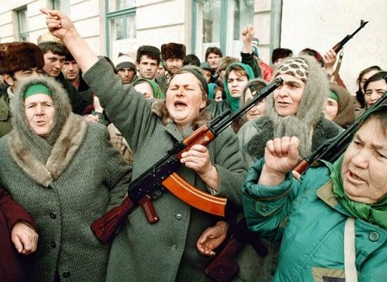 Фото 1994 года из Чечни представляется как актуальные события в Ростове