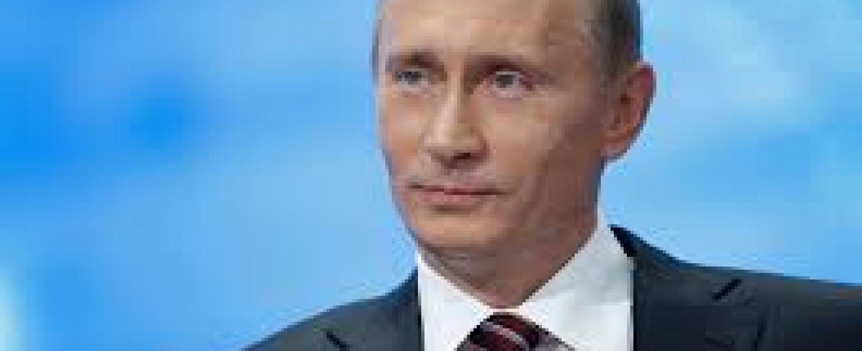 Putin says Russia won't be intimidated over Crimea