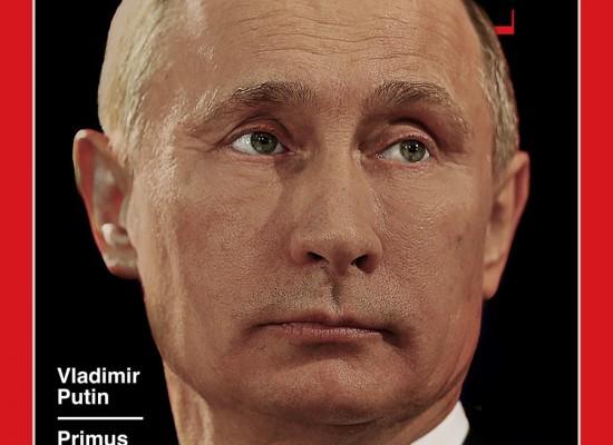 Фейк: сотрудник Time выложил в Сеть обложку с «человеком года» Путиным