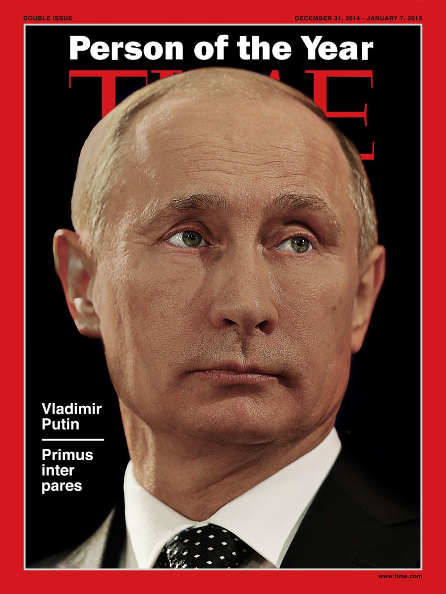 Fake Time Employee Posted A Cover With The Man Of The Year Vladimir Putin Stopfake