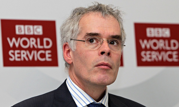 BBC World Service chief Peter Horrocks. Photograph: Lewis Whyld/PA