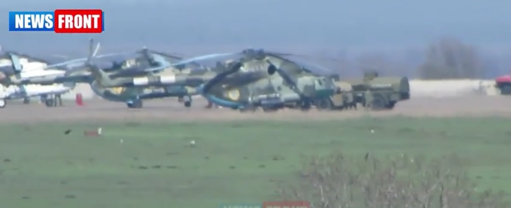 Video Fake: Ukrainian Military Machinery near Mariupol