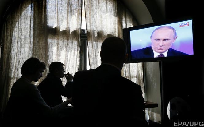 Информация о конфликте в Украине изначально часто попадала на Запад в упаковке российской пропаганды