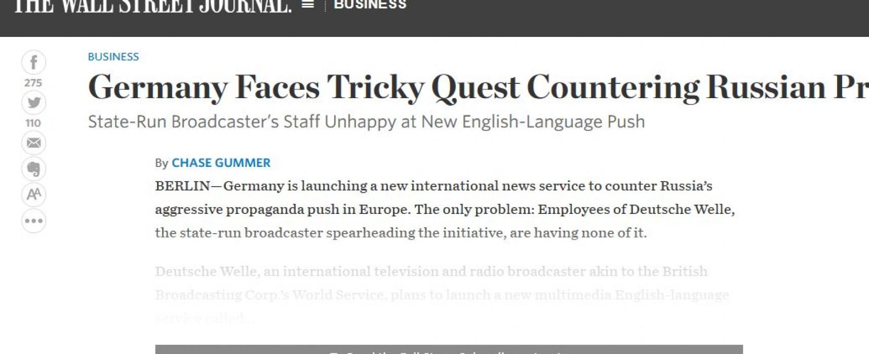 В Германии появится новостной сервис, который будет бороться с российской пропагандой