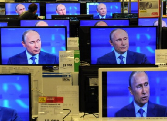 Putin's Propaganda Industry Tightens Its Belt