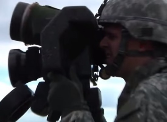 Video Fake: American Trainers Teach Ukrainian Military Men How to Use a Javelin Missile System