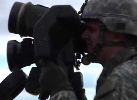Видеофейк: американские инструкторы обучают украинских военных использовать комплекс Javelin