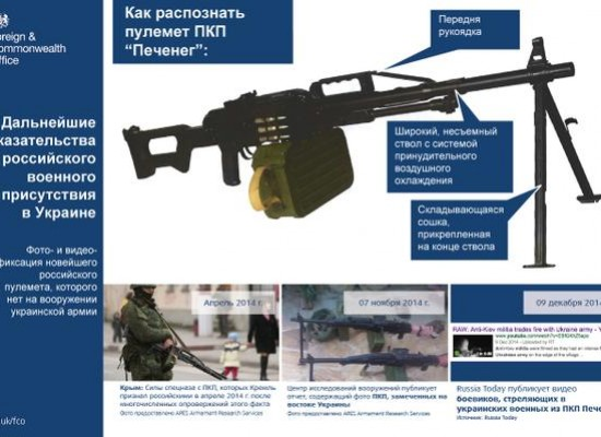 Photoproof of Donbas Separatists Using Russia's mashine gun