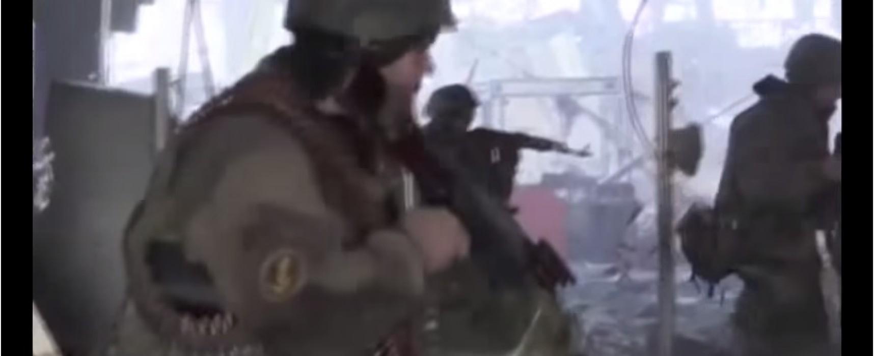 «Вести недели» с Дмитрием Киселевым показали российских солдат в донецком аэропорту