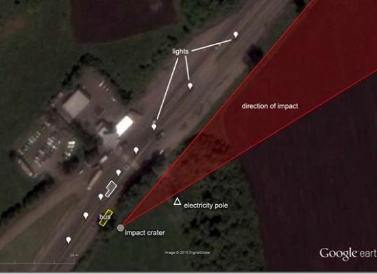 Analysis of the Volnovakha incident