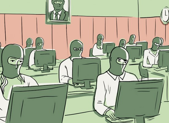 Городской типаж: блогер-пропагандист