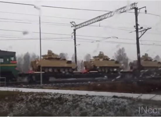 Видеофейк: Американская военная техника в Украине