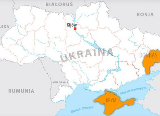 Occupied Ukrainian territories compared to Europe – picture horrifies