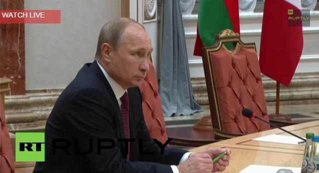 Belarus  Putin  Merkel  Poroshenko  Hollande and Lukashenko pose in Minsk2