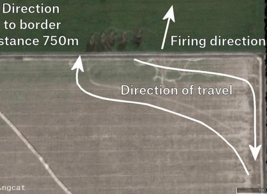 Происхождение артиллерийских ударов по позициям украинских военных в восточной Украине с 14 июля по 8 августа 2014 г.