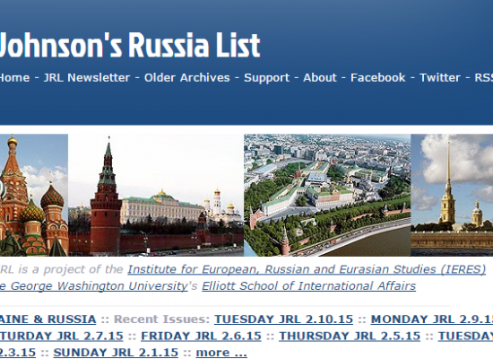 Johnson's Russia List Spreads Invented Story About Germany Preparing Sanctions Against Kiev