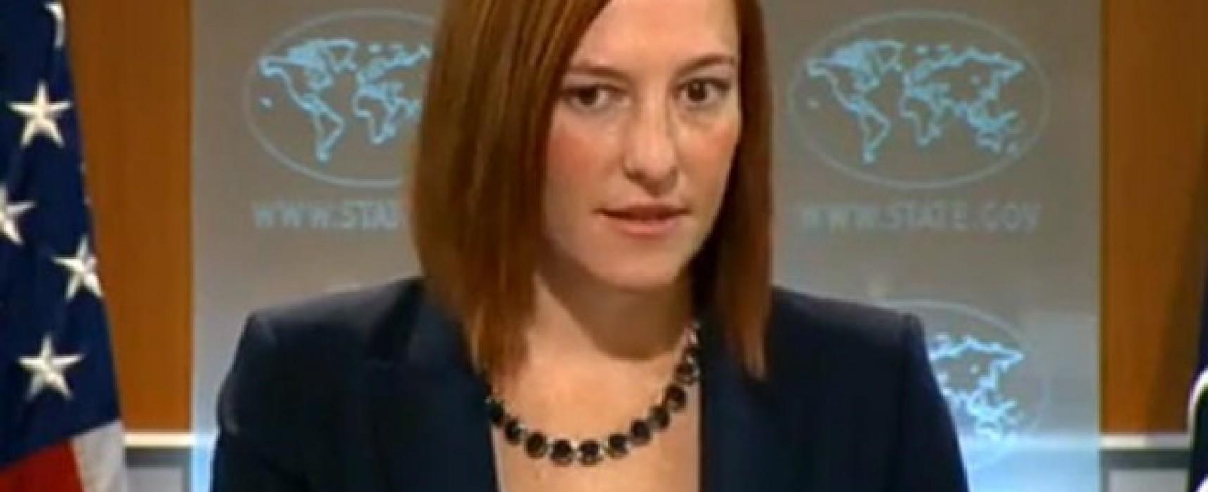 Фейк: Джен Псаки заявила, что Янукович ушел по собственной воле