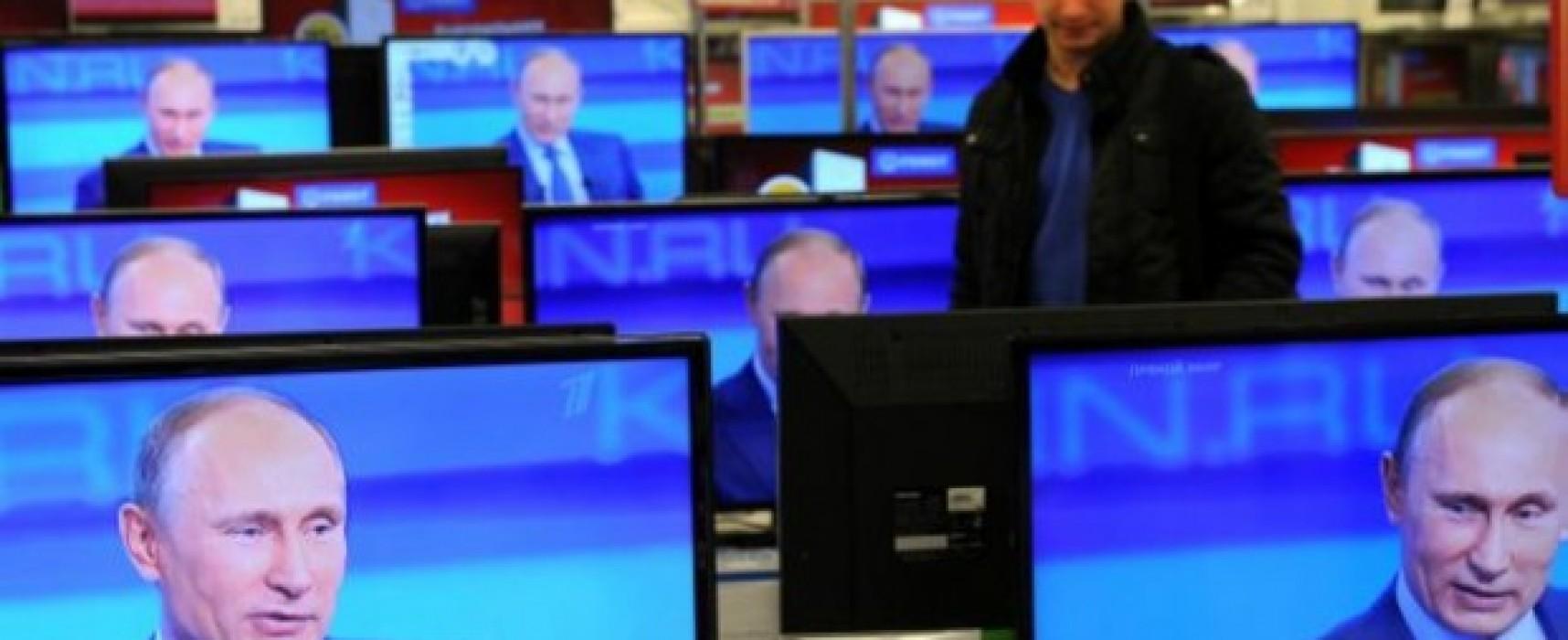 Putin is Operating a Counterfeit, Propoganda TV Station in Ukraine