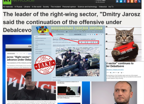 Russia's latest disinformation campaign attempts to justify ceasefire violations
