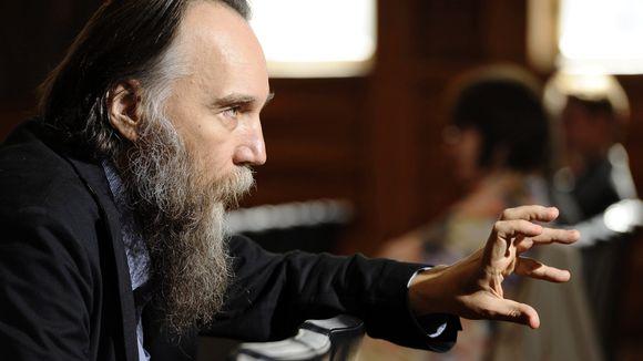 Der russische Ideologe Alexander Dugin  |  © Heikki Saukkomaa/Lehtikuva/dpa