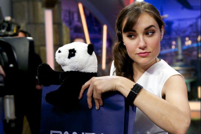 Sasha Grey attends 'El Hormiguero' TV show at Vertice 360 Studio on July 1, 2014 in Madrid, Spain. (Juan Naharro Gimenez/Getty Images)