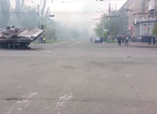 A Reconstruction of Clashes in Mariupol, Ukraine, 9 May 2014