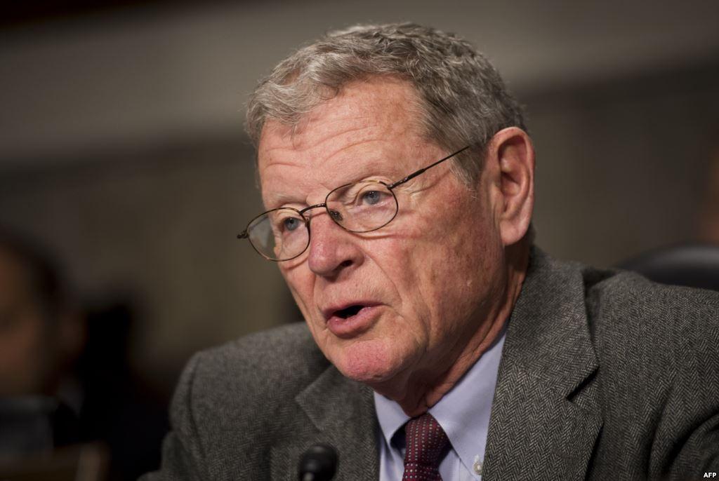 U.S. Senator James Inhofe (file photo)