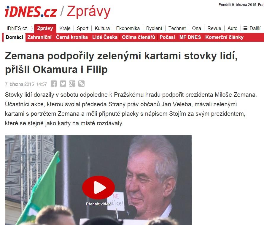 Скриншот сайта zpravy.idnes.cz