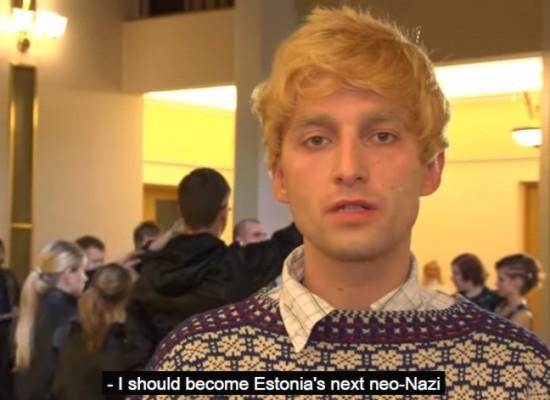 Телеканал «Россия 1» использовал комедийный скетч в качестве доказательства неонацизма в эстонских школах