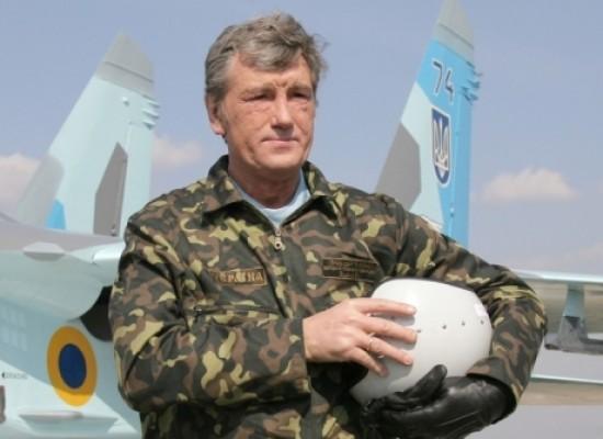 Фейк: Виктор Ющенко едет воевать на Донбасс