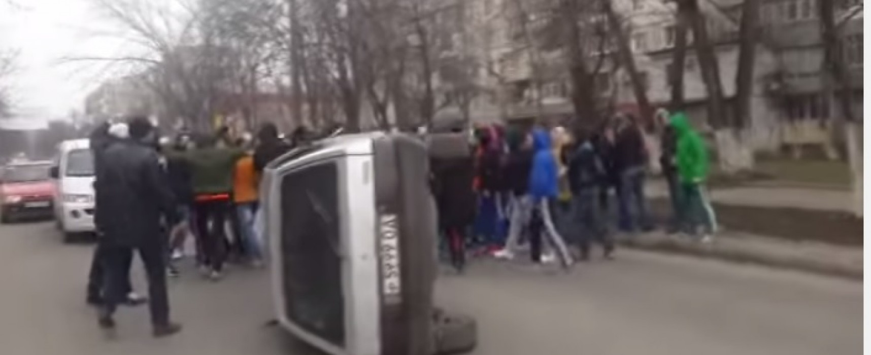 «Массовые беспорядки» в Одессе оказались постановкой