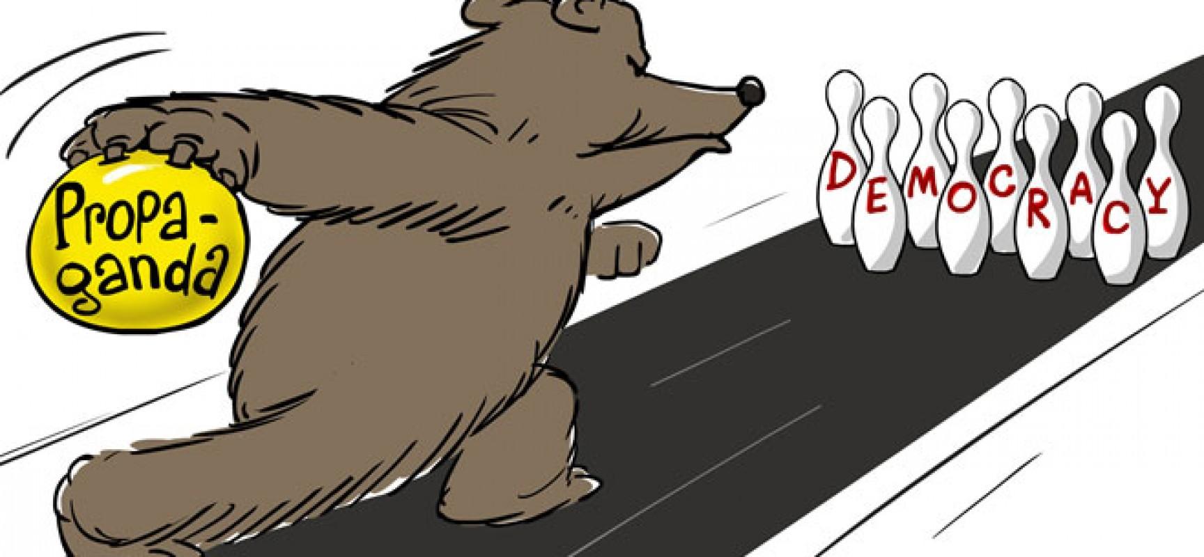 Russian Propaganda Exploits Western Weakness
