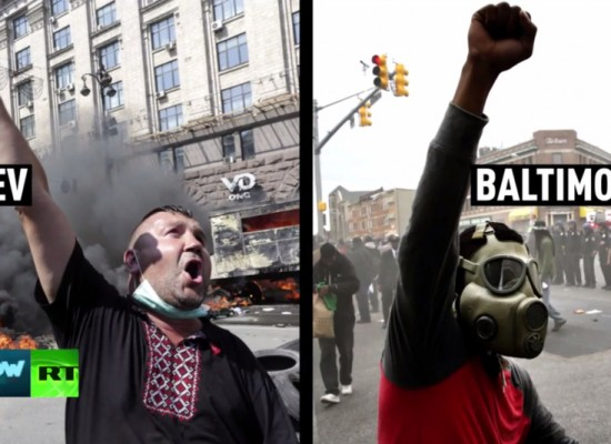 Russian media is loving the Baltimore riots