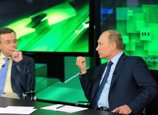 Russia fighting information wars with borrowed weapons