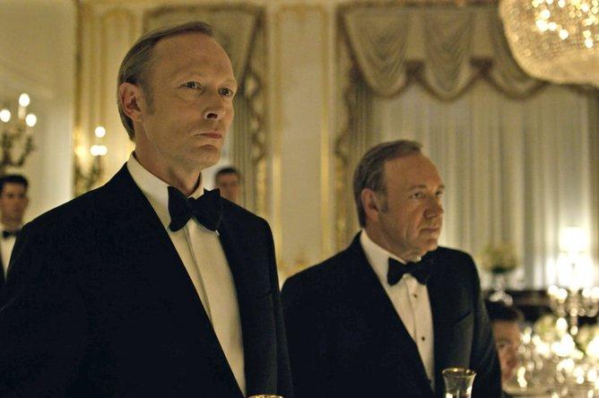 House of Cards villain Viktor Petrov, played by Lars Mikkelsen, is (very obviously) based on Vladimir Putin.  Netflix