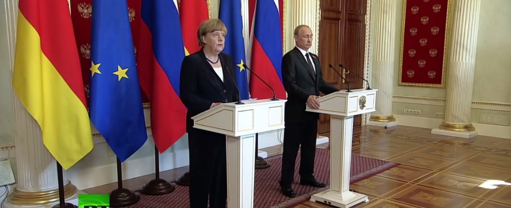 En Kremlin corregieron las palabras de Angela Merkel sobre la anexión de Crimea y la guerra en Donbas