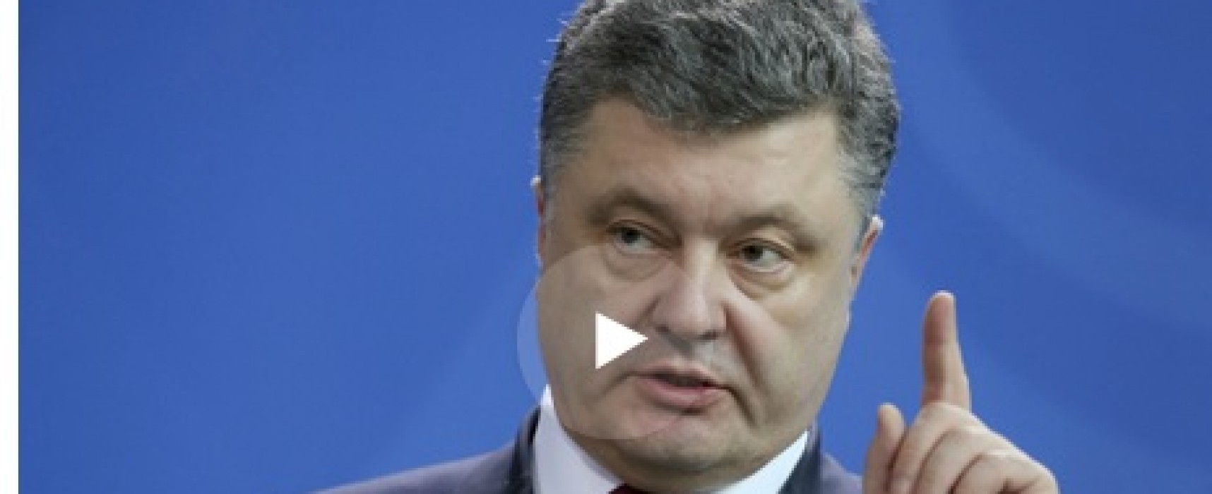 Fake: Poroshenko Makes Bandera Flag Symbol of Victory Day
