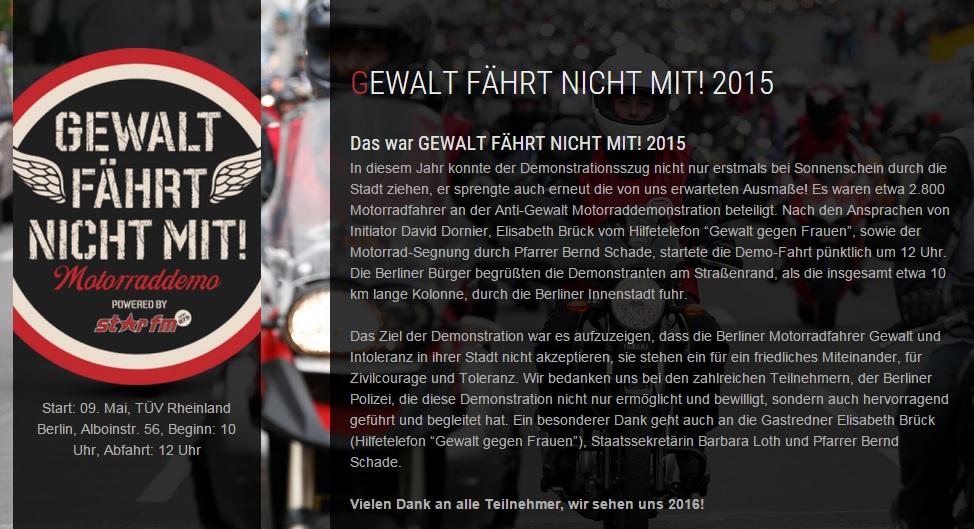 Скриншот сайта gewaltfaehrtnichtmit.de