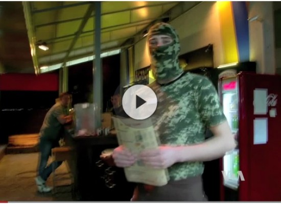 Ukraine Restaurant Spoofs Russian Propaganda