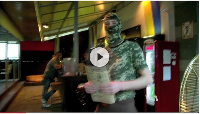 Screenshot of Voanews' video