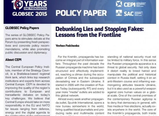 Разоблачение лжи и борьба с фейками: уроки передовой