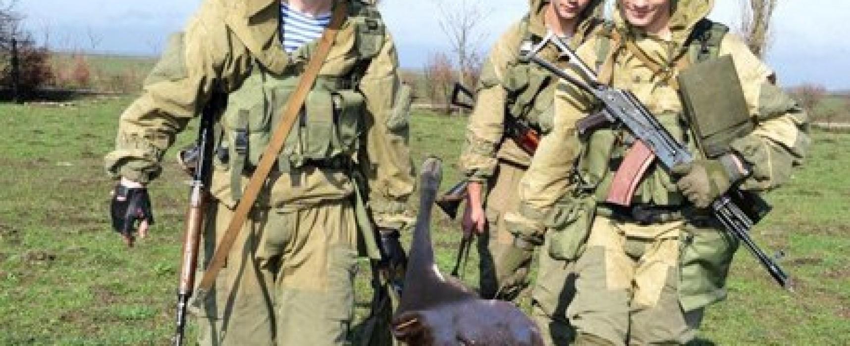 """El canal ruso """"Zvezda"""" falsificó la foto con los militares ucranianos"""