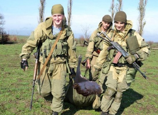 Телеканал «Звезда» подделал фото с украинскими военными