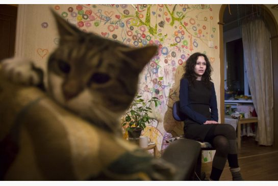 DMITRY LOVETSKY / AP Lyudmila Savchuk, a single mother with two children, was once a Kremlin troll working as part of an immense propaganda machine trying to shape public opinion not only across Russia but also in the United States and Europe.