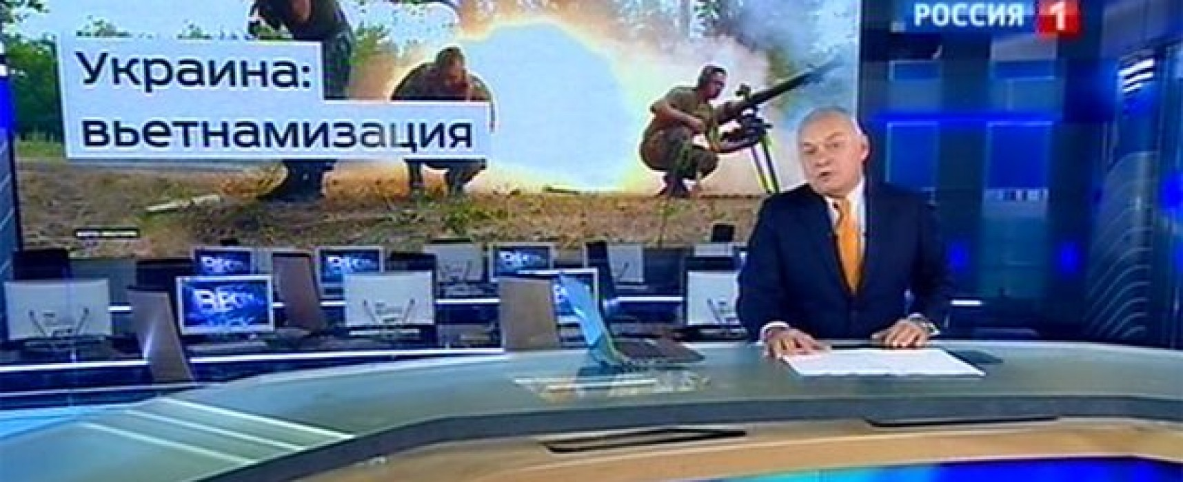 How Russian TV changed during Ukraine crisis