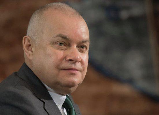 Счет «России Сегодня» в Британии закрыли из-за санкций против Киселева