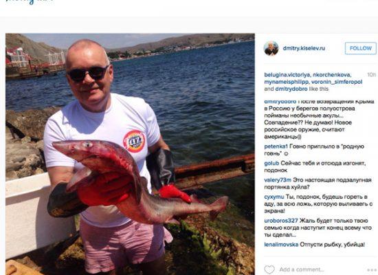 Аккаунты Дмитрия Киселева в facebook и instagram просуществовали несколько часов