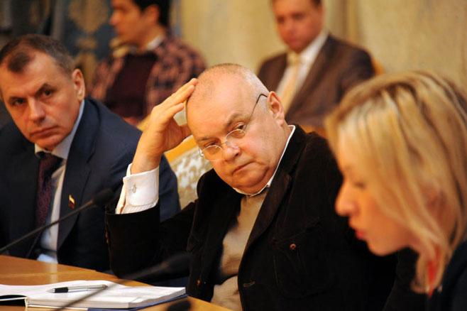 Sergei Porter / VedomostiRossiya Sevodnya's Editor-in-chief Dmitry Kiselyov