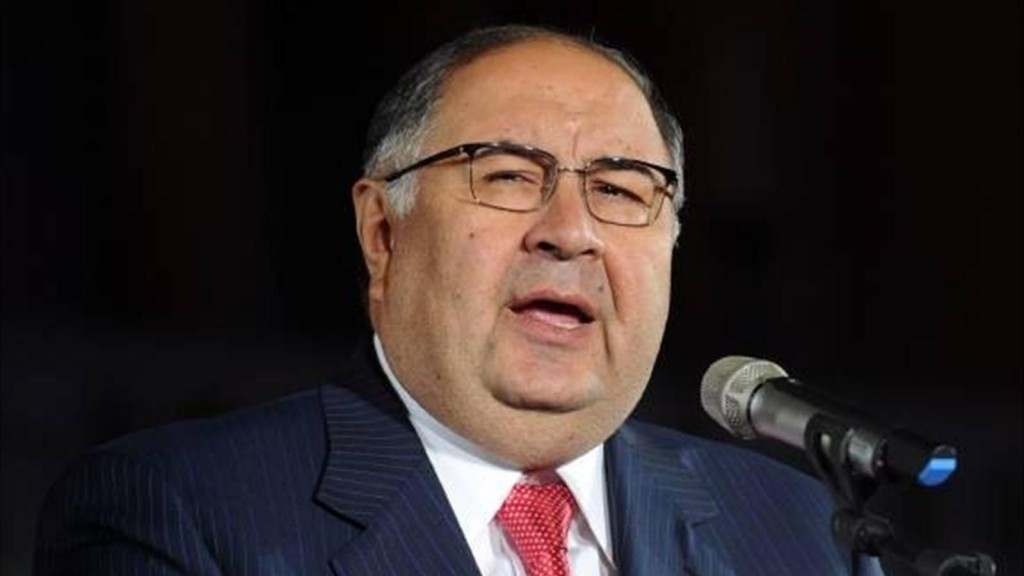 Alisher Usmanov photo by www.eurosport.ru