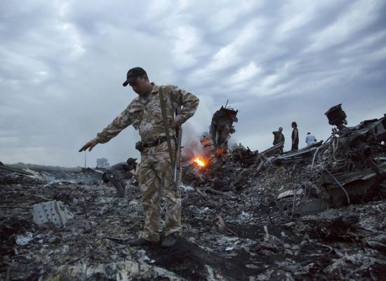 Malaysia airlines flight MH17 crash illustrates different realities in Russia vs. West